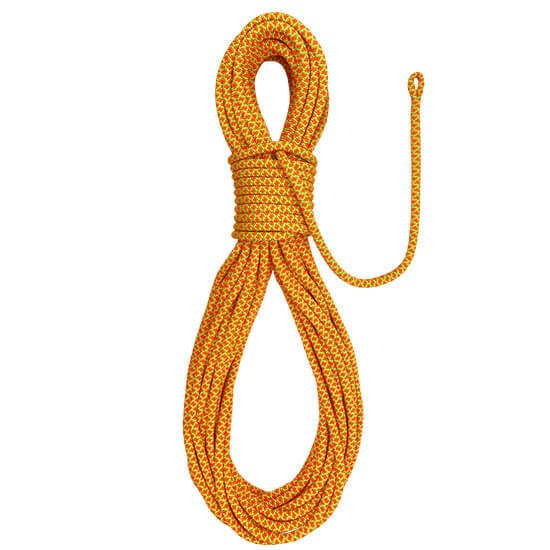 Cousin Atrax 11,6 orange Climbing Rope with splice