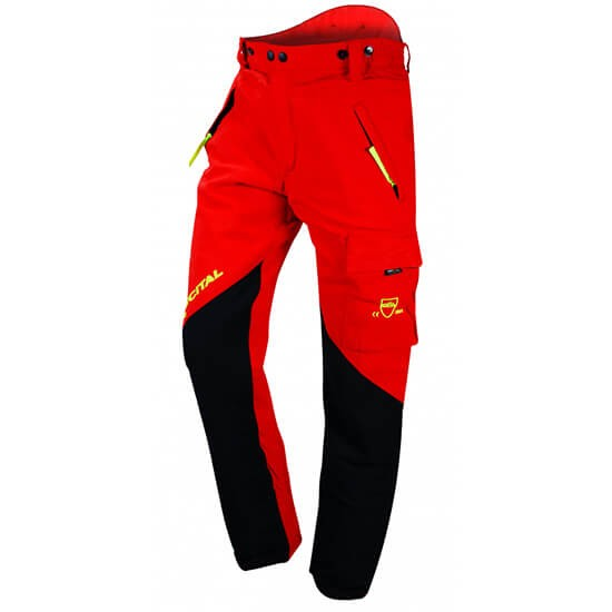 Francital Everest Protective Trousers red