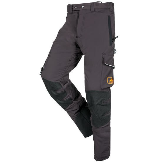 SIP Protection Arborist Protective Trousers long grey