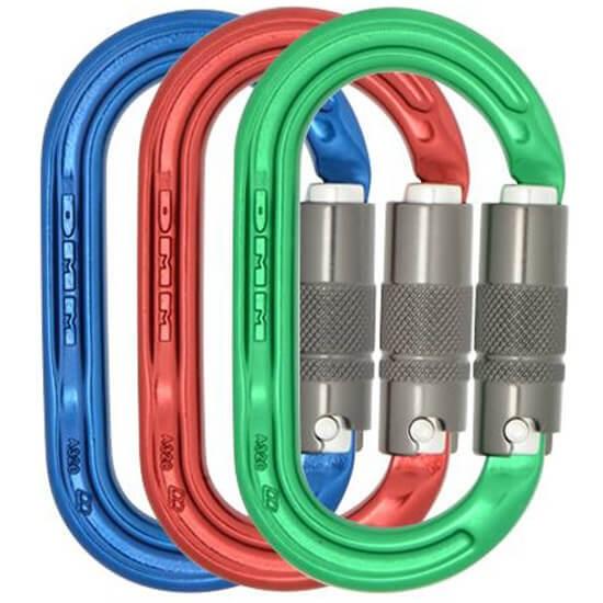 DMM Ultra O Locksafe Kit Mousqueton Ovale