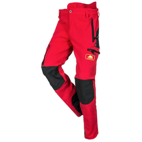 SIP Protection Climbing trousers Progress red