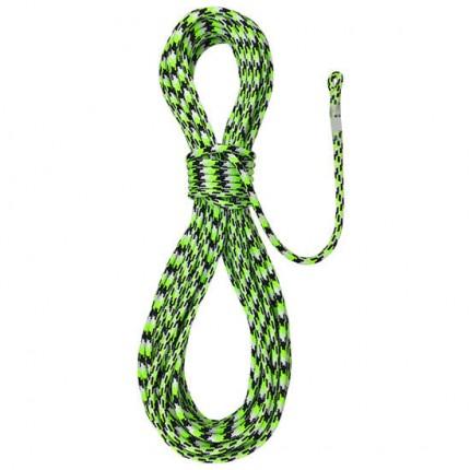 Teufelberger Tachyon 11,5 green Corde de grimpe avec épissure