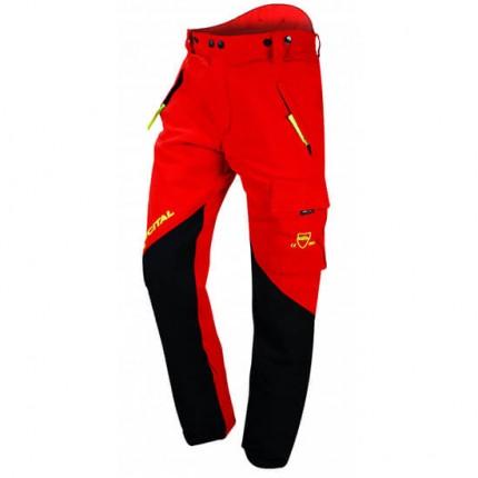 Francital Everest Schnittschutzhose rot