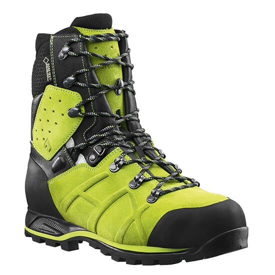 HAIX Protector Ultra Lime Green Cut Protection Shoe