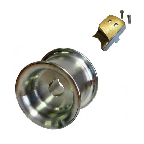 Portable Winch Spilltrommel 57 mit Seilführung
