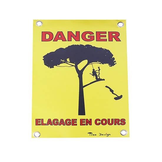 Affiche de signalisation DANGER petite