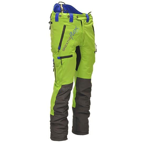 Arbortec Breatheflex Pro Lime Protective Trousers